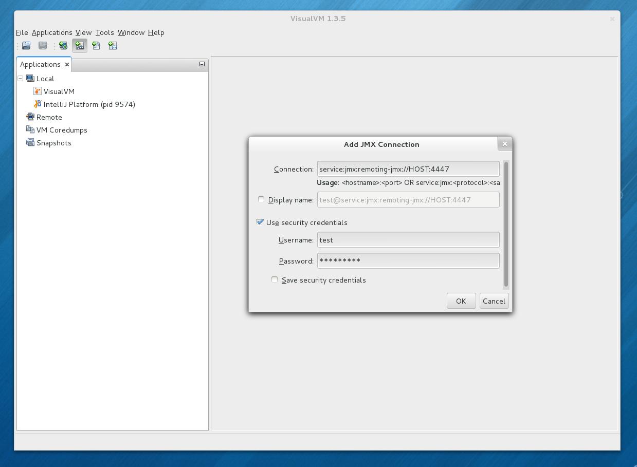 JMX connections to JBoss AS | Planet JBoss Developer